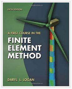 دانلود حل المسائل کتاب روش اجزای محدود داریل لوگان  Daryl Logan