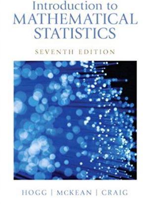 دانلود حل المسائل کتاب ریاضیات آماری هاگ Robert Hogg