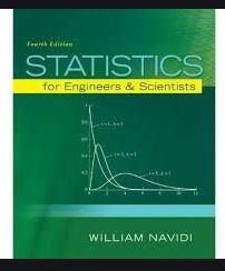 دانلود حل المسائل کتاب آمار مهندسی ویلیام نویدی William Navidi