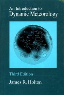 دانلود حل المسائل کتاب مقدمه ای بر هواشناسی دینامیکی جیمز هولتون و گریگوری حکیم