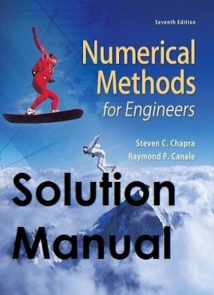 دانلود حل المسائل روش های عددی استیون چاپرا ویرایش هفتم STEVEN CHAPRA