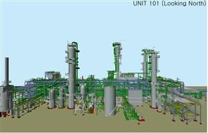 گزارش کارآموزی جامع واحدهای مختلف پالایشگاه گازی