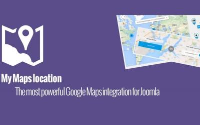 My Maps location V3.1.5 - کامپوننت نمایش مکان ها و اطلاعات آنها بر روی نقشه همراه با فایل راهنما