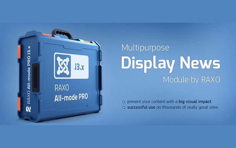 RAXO All-mode PRO 1.5 - ماژول نمایش مطالب جوملا