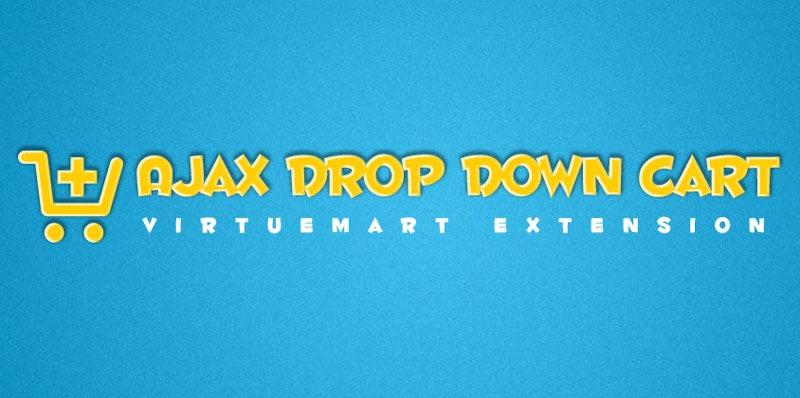 Ajax Drop Down Cart for Virtuemart V2.5.0 - ماژول سبد خرید برای ویرچومارت