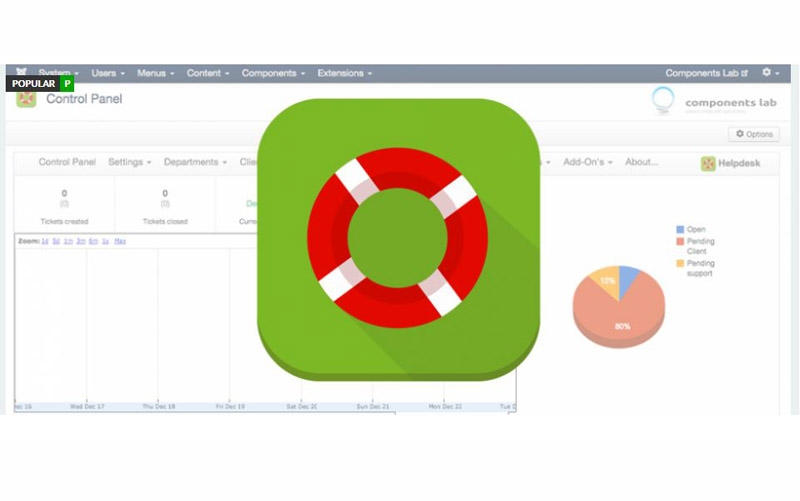 MaQma Helpdesk V4.2.4 - کامپوننت فارسی پشتیبانی با تیکت همراه با افزونه های جانبی