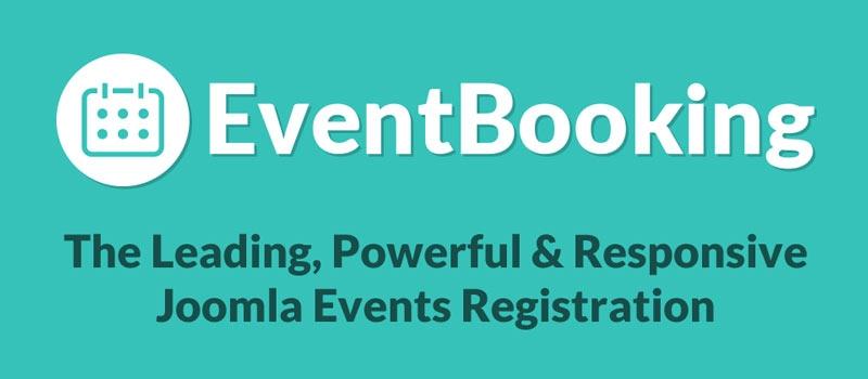 Event Booking V2.9.1 - دانلود کامپوننت مدیریت رویداد