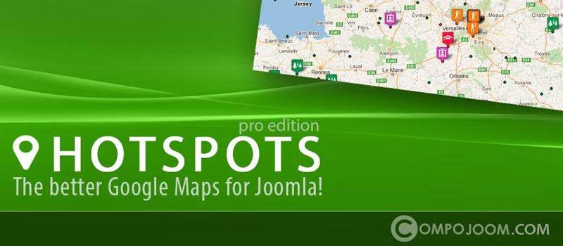 Hotspots Pro V5.3.0 - کامپوننت نمایش مکان های مختلف بر روی نقشه گوگل