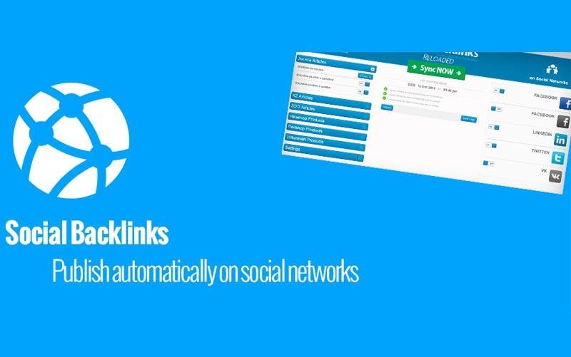 Social Backlinks V2.2.2 - دانلود کامپوننت اشتراک گذاری مطالب در شبکه های اجتماعی