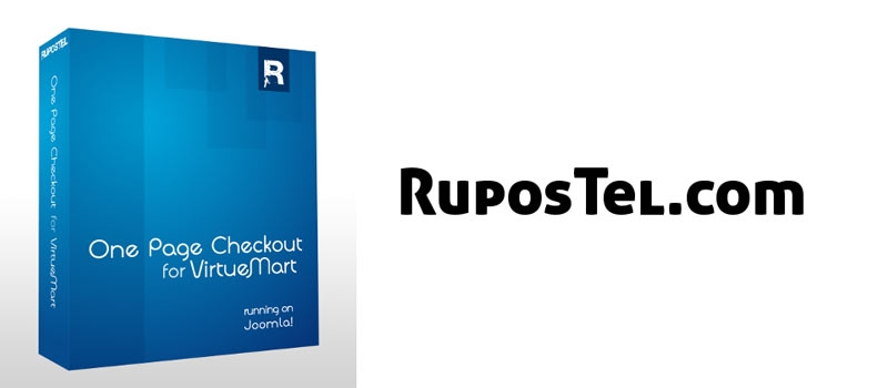 RuposTel One Page Checkout for VirtueMart V2.0.302 - کامپوننت پرداخت تک صفحه ای ویرچومارت