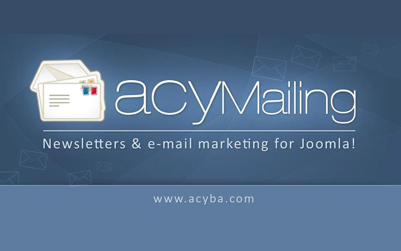 AcyMailing enterprise V5.5.0 - کامپوننت فارسی خبرنامه جوملا همراه با افزونه های جانبی
