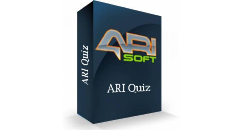 Ari Quiz Pro 3.8.4 - دانلود کامپوننت فارسی ایجاد تست و آزمون آنلاین