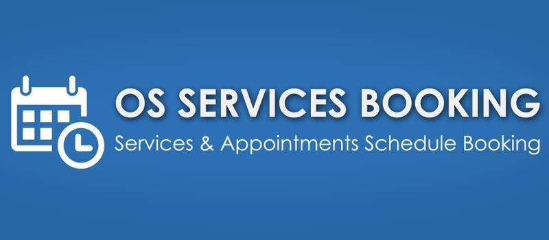 OS Services Booking V2.4.6  -  دانلود کامپوننت نوبت دهی و رزرواسیون همراه با فایل راهنمای انگلیسی
