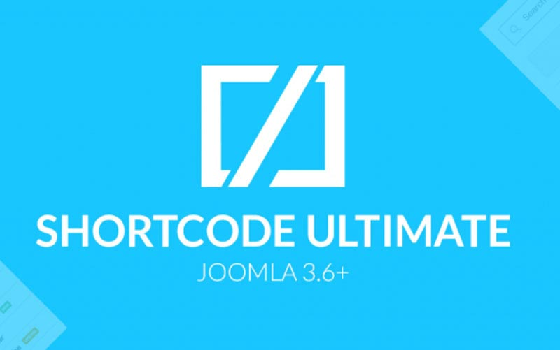 Shortcode Ultimate Pro V3.7.1 - پلاگین ابزار و کدهای آماده جوملا همراه با فایل راهنمای انگلیسی