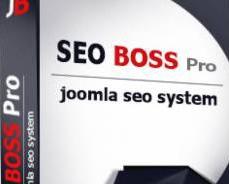 افزونه مدیریت سئو و بهینه سازی جوملا SEO Boss PRO