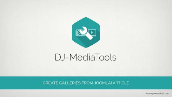 کامپوننت ابزار چندرسانه ای جوملا Dj media tools
