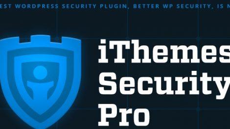 دانلود بهترین پلاگین امنیتی وردپرس iThemes Security Pro