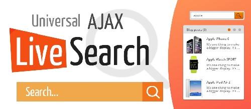 افزونه جستجوی آژاکس جوملا Universal AJAX Live Search