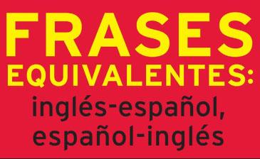 کتاب جملات معادل بین انگلیسی و اسپانیایی