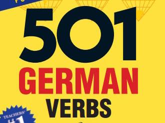 کتاب 501 فعل آلمانی. صرف افعال به همراه مثال