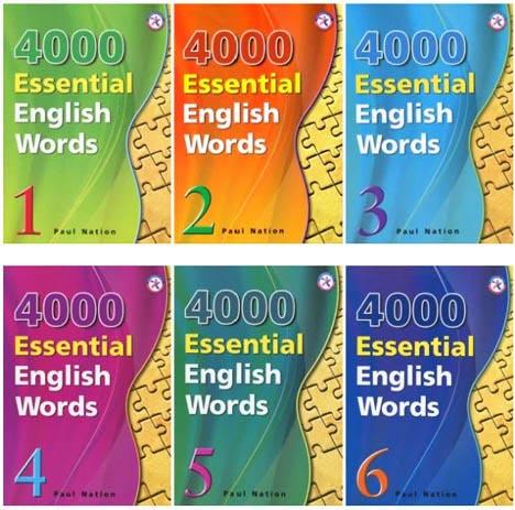4000 لغات رایج انگلیسی (شش جلد کتاب)