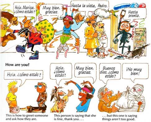 کتاب مصور آموزش مبتدی زبان اسپانیایی