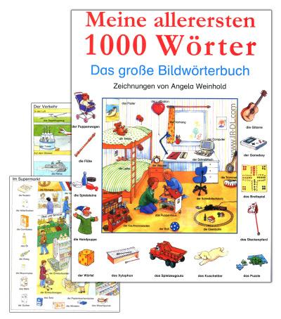 دیکشنری تصویری زبان آلمانی