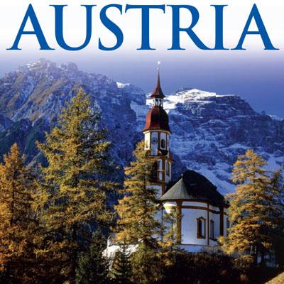 کتاب راهنمای گردشگری در کشور اتریش. به زبان آلمانی