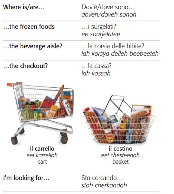 کتاب تصویری لغات و جملات ایتالیایی
