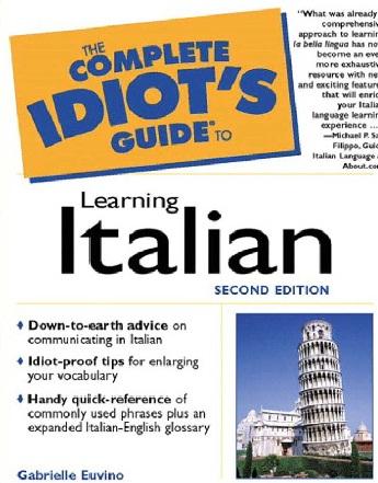 کتاب (راهنمای کامل زبان ایتالیایی) The Complete Idiots Guide to Learning Italian