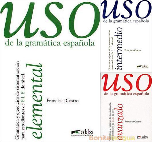 مجموعه کتاب های Uso de la gramática española