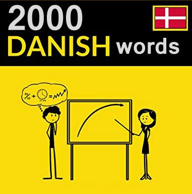 دو هزار لغت دانمارکی به همراه مثال در جمله برای هر لغت + ترجمه انگلیسی