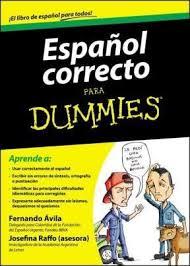 کتاب آموزش اسپانیایی سطح پیشرفته - Español Correcto Para Dummies
