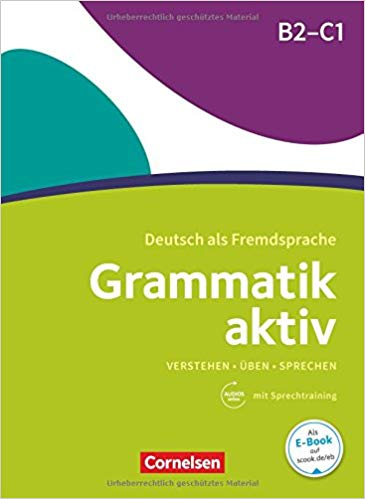 کتاب آموزش قواعد زبان آلمانی Grammatik aktiv B2-C1