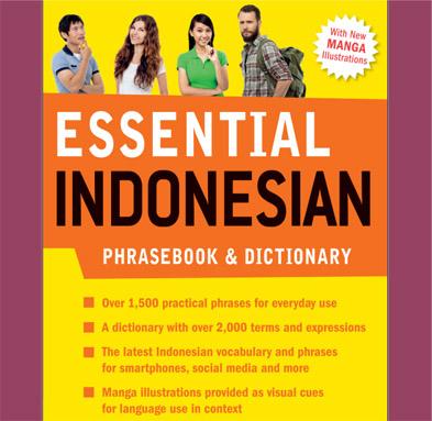 کتاب لغات و مکالمات زبان اندونزیایی Essential Indonesian Phrasebook & Dictionary