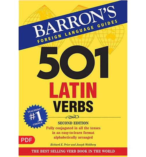 کتاب 501 فعل در زبان لاتین. صرف افعال به همراه مثال
