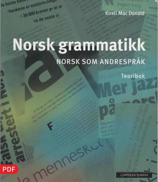 کتاب گرامر زبان نروژی