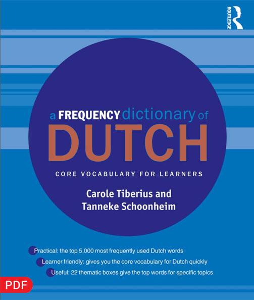 کتاب 5000 لغت هلندی با مثال