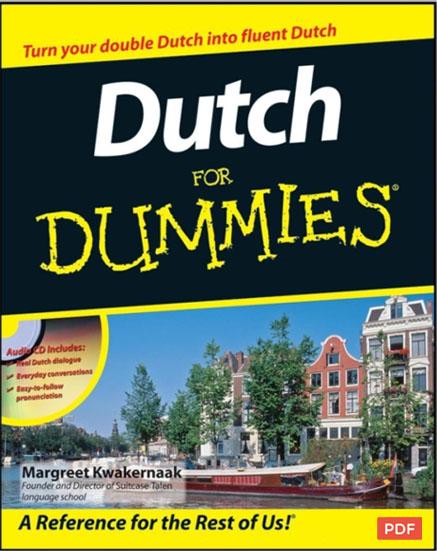 کتاب آموزش زبان هلندی Dutch for Dummies