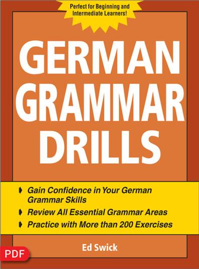 کتاب تمرین گرامر زبان آلمانی German Grammar Drills