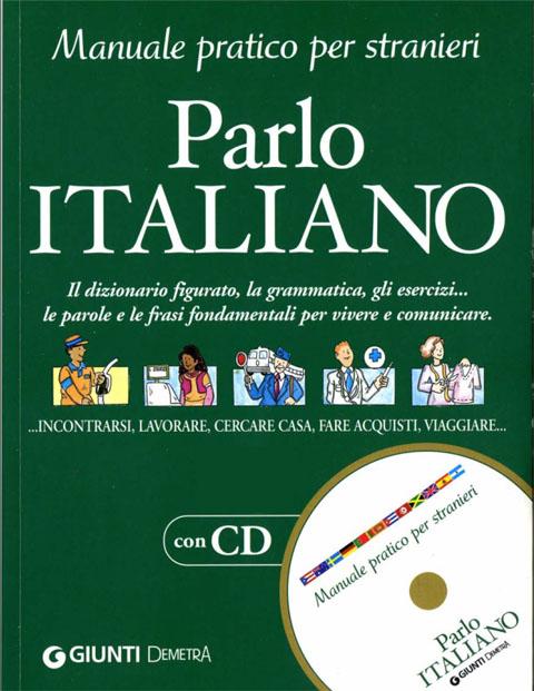 کتاب آموزش زبان ایتالیایی Parlo italiano به همراه فایل های صوتی