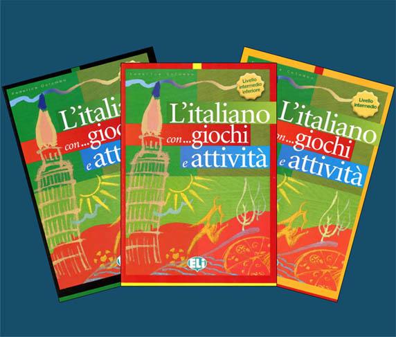 کتاب های Italiano con giochi e attività