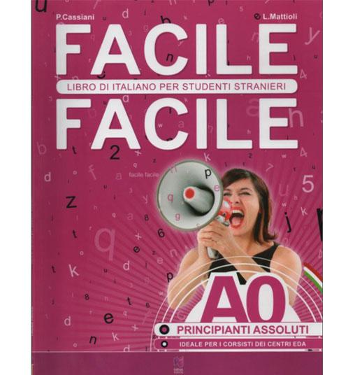 کتاب آموزش ایتالیایی Facile - A0 به همراه فایل های صوتی