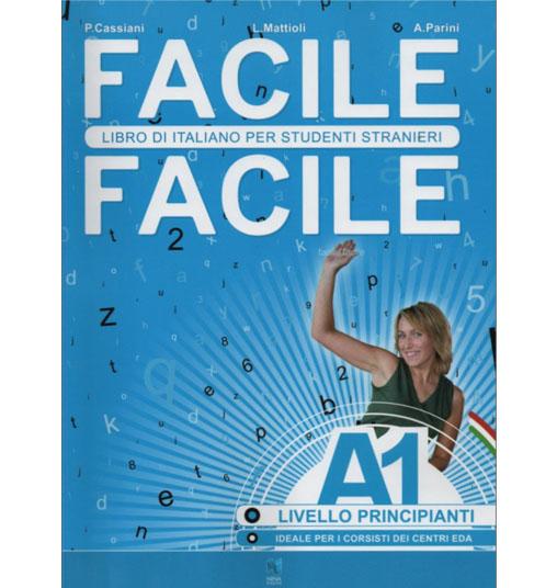 کتاب آموزش ایتالیایی Facile - A1 به همراه فایل های صوتی