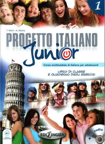 کتاب آموزش ایتالیایی Progetto italiano Junior A1