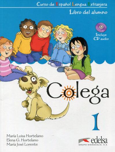 کتاب colega آموزش اسپانیایی برای بچه ها