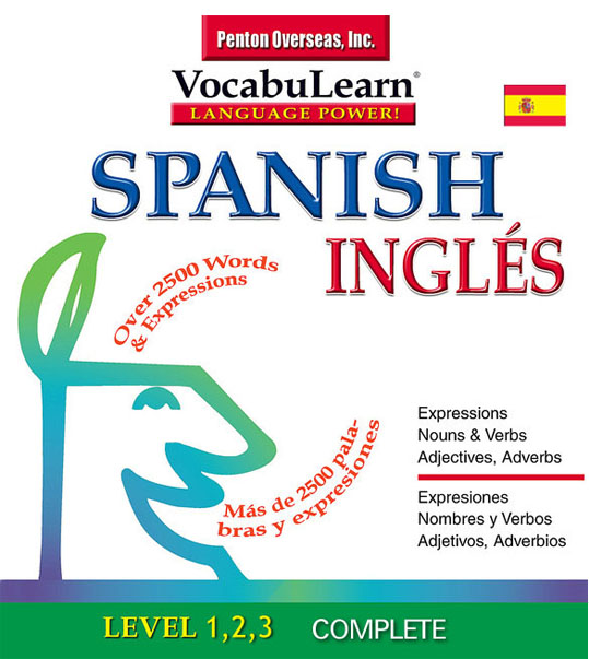 لغات و اصطلاحات ضروری زبان اسپانیایی Vocabulearn Spanish