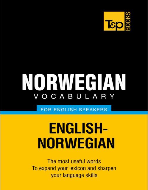 کتاب لغات کاربردی زبان نروژی Norwegian Vocabulary