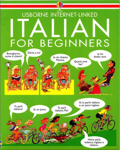 کتاب مصور آموزش مبتدی زبان ایتالیایی Italian For beginners