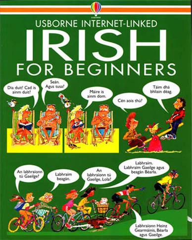 کتاب مصور آموزش مبتدی زبان ایرلندی Irish For beginners